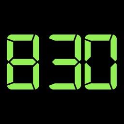 Home screen clock - widgets