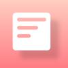 Ryosuke Tamura - Widget Memo - ウィジェットにメモを設置 - アートワーク