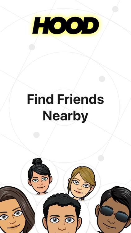 Hood - Find Friends Nearby