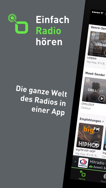 radio.at - Der Radioplayer