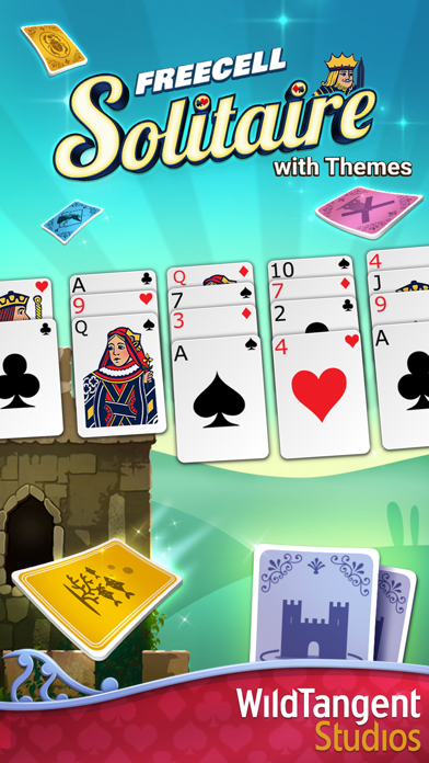 FreeCell Solitaire with Themes screenshot 5