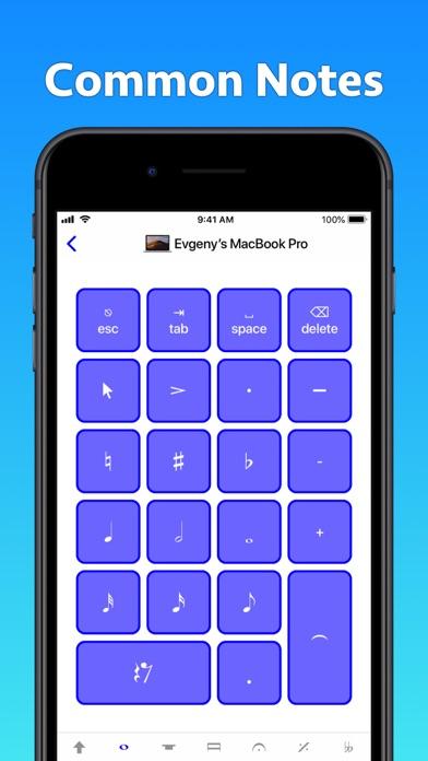 Screenshot #2 pour Sibelius KeyPad for Mac