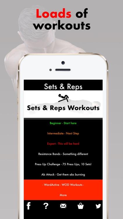 Sets & Reps - Home Workout App by Kieran Blacker