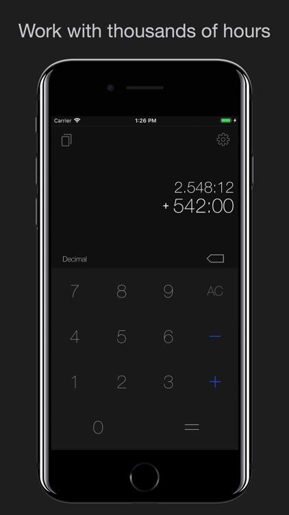 Time-Calculator screenshot-4