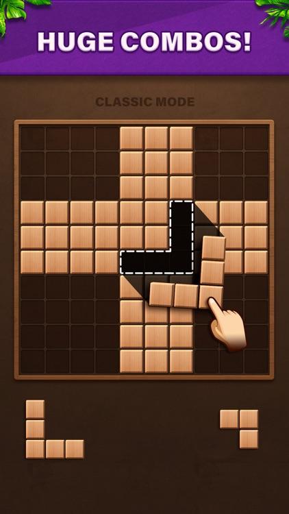 Fill Wooden Block: Cube Puzzle screenshot-0
