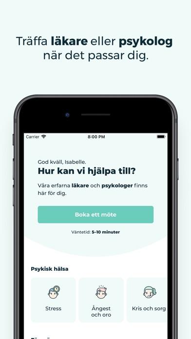 Screenshot for KRY – trygg vård i mobilen in Sweden App Store