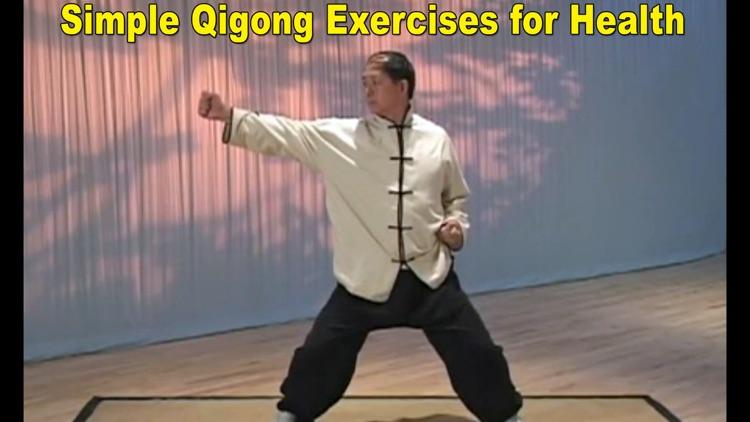 Eight Brocades Qigong Standing