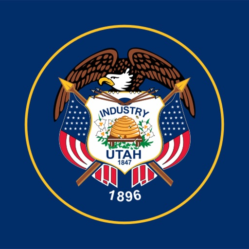 Utah state - USA stickers