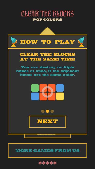 Clear The Blocks, Merge Colors screenshot 2