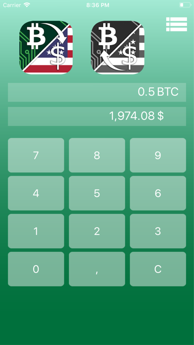 Bitcoin Price ビットコイン価格のスクリーンショット3