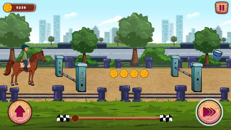 Funny Ranch Racing screenshot-4