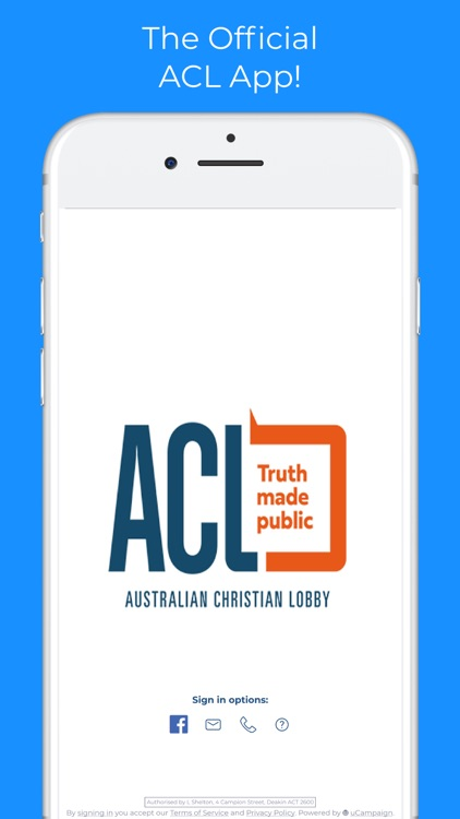 Australian Christian Lobby screenshot-0