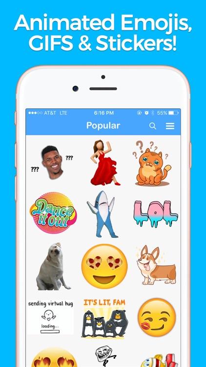 YourMoji - Custom Emojis, GIFs screenshot-3