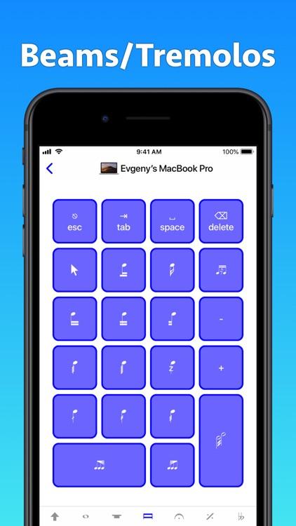 Sibelius KeyPad for Mac screenshot-3