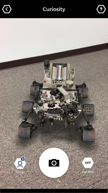 Spacecraft AR screenshot-3