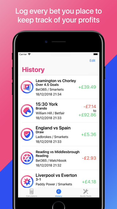 Matched betting calculator iphone tricks football betting tips analysis of poems