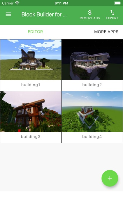 Block Builder for Minecraft PE