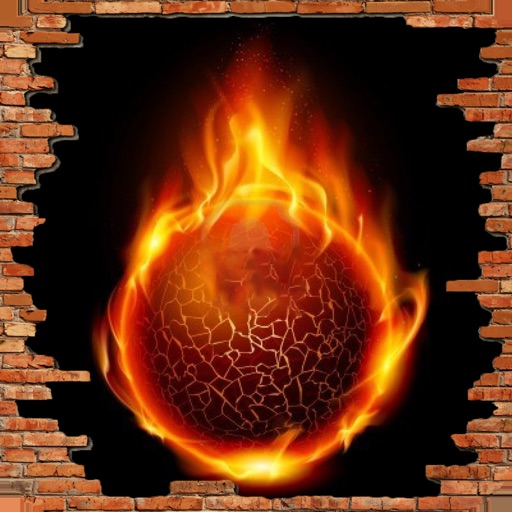 Fire Ball Glow Infinity