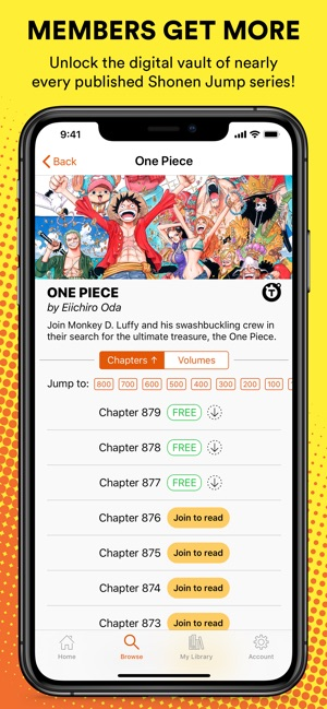 Shonen Jump Manga & Comics on the App Store