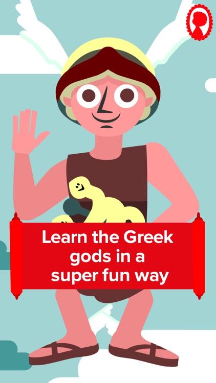 Match & Learn The Greek Gods screenshot-3