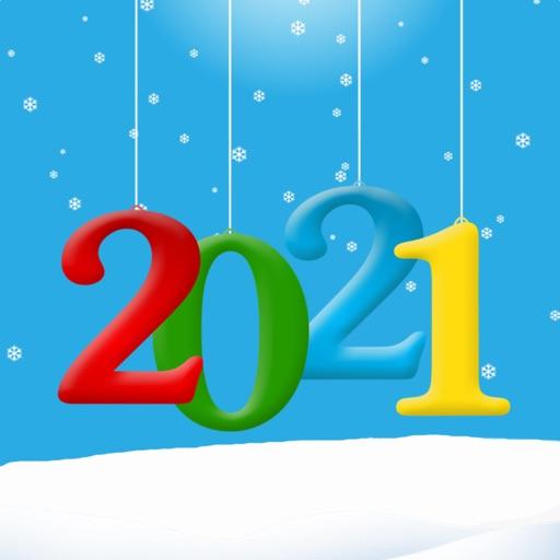 Happy New Year 2021 Stickers