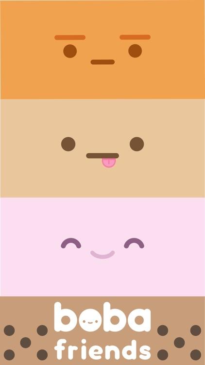 Boba Friends Sticker Pack
