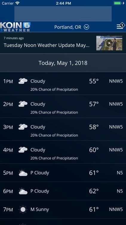 PDX Weather - KOIN Portland OR screenshot-4
