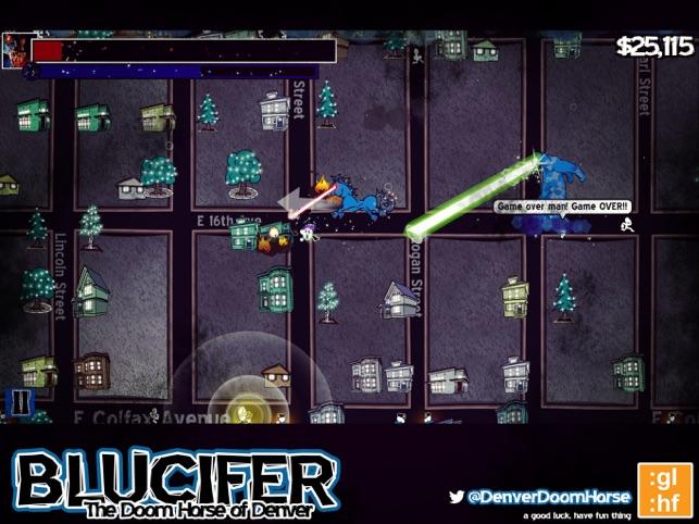 Blucifer, game for IOS