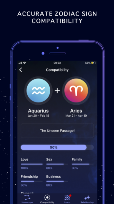 Nebula: Horoscope & Astrology Screenshot