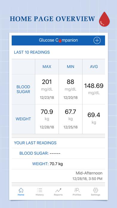 Glucose CompanionScreenshot of 1