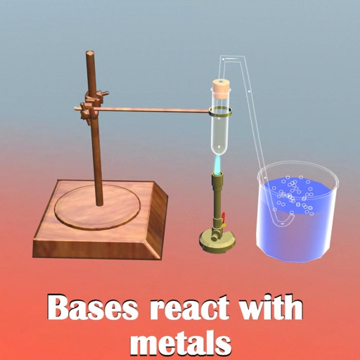 Bases React with Metals