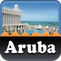 Aruba Island Map Travel Guide