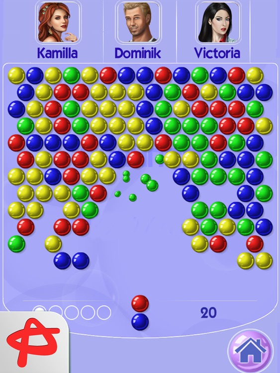 Bubblez: Magic Bubble Quest HD screenshot-0