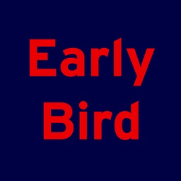 Early Bird - Book & save 33%