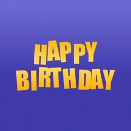Birthday Stickers - Messages