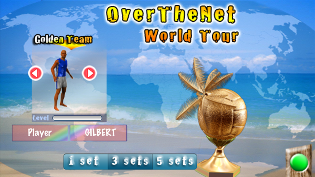 ‎Over The Net Beach Volley Screenshot