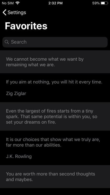 Motivation, Daily Quote Widget screenshot-7