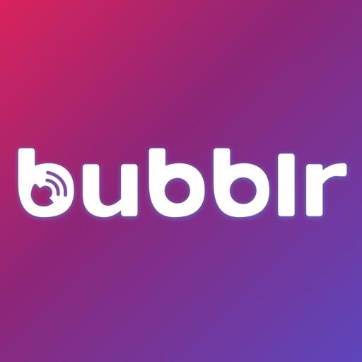 Bubblr best for breaking news iOS App