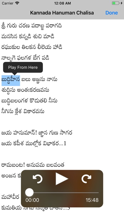 SGS Kannada Hanuman Chalisa screenshot-4