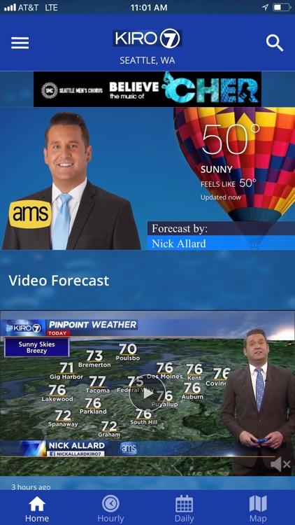 KIRO 7 PinPoint Weather App