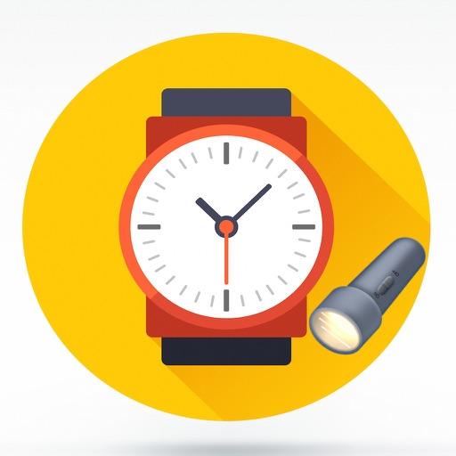 كشاف و ساعة