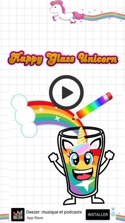 Happy Glass Unicorn Game screenshot-3