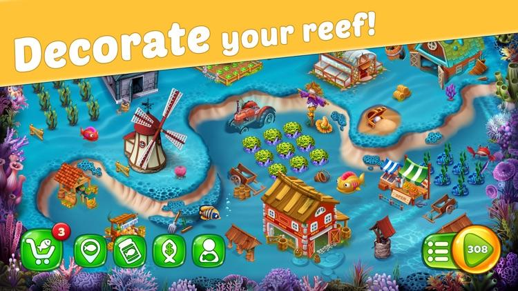 Reef Rescue: Match 3 Adventure screenshot-3