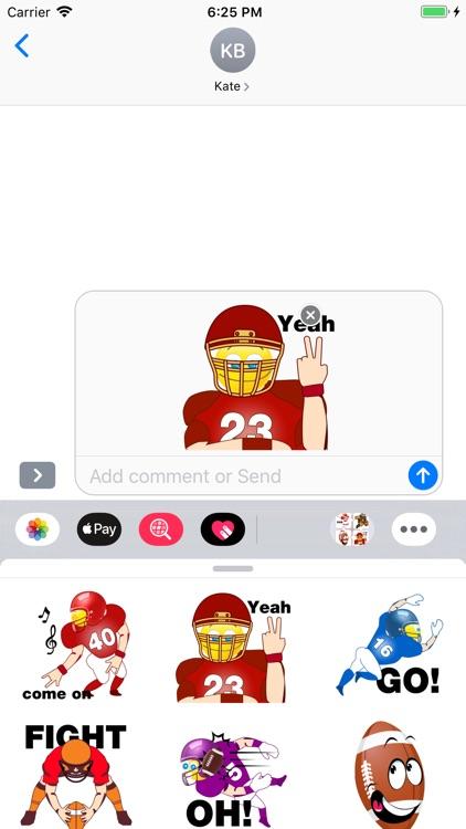 Football Emojis screenshot-7