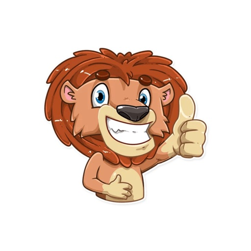 King Leo,Stickers for iMessage