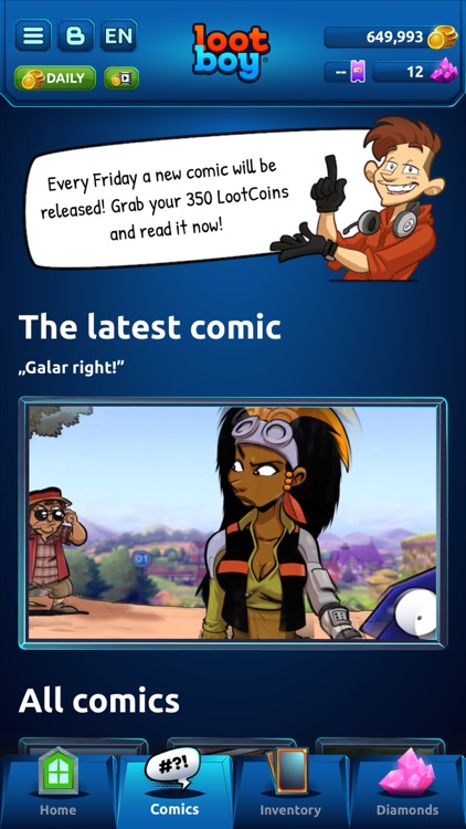 LootBoy - Grab your loot! screenshot-0