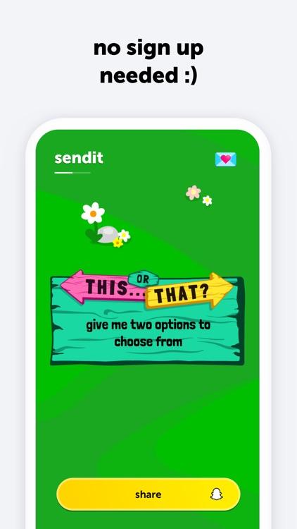 sendit | lens games screenshot-3