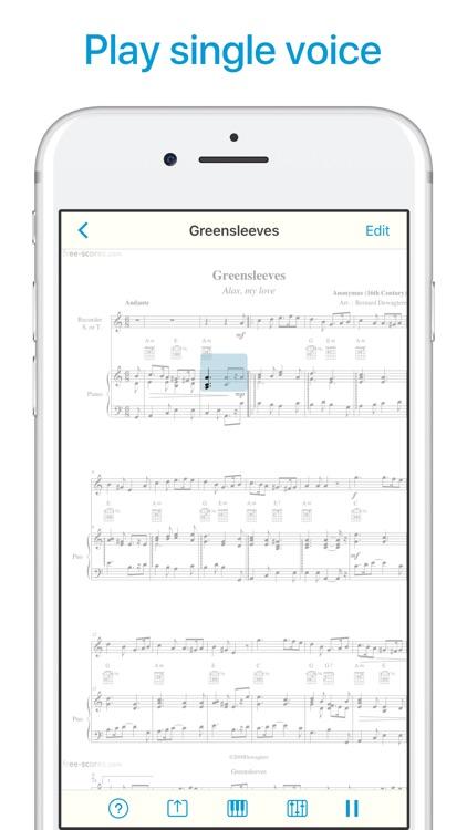 Sheet Music Scanner screenshot-4