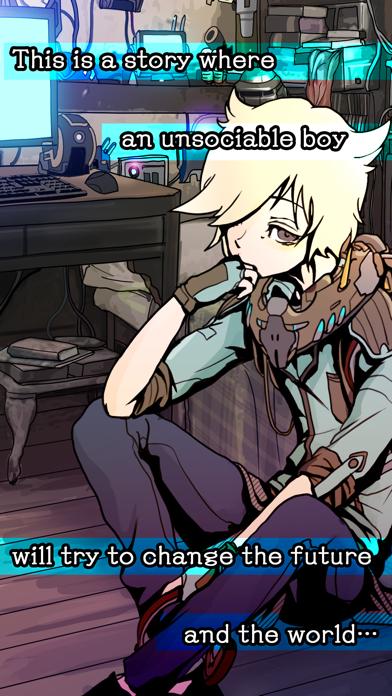 Visual Novel:  I.B. screenshot one