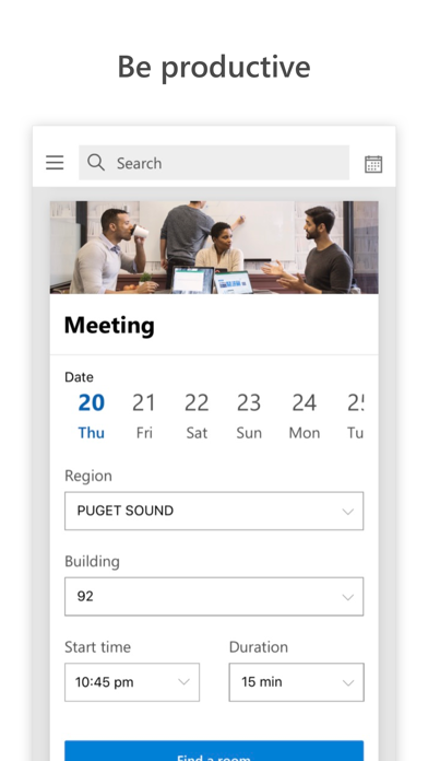 Microsoft CampusLink screenshot 2